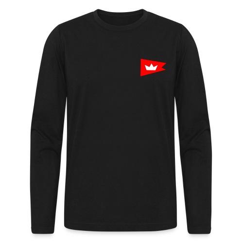 Long Sleeve Burgee Logo shirt - Men's Long Sleeve T-Shirt by Next Level