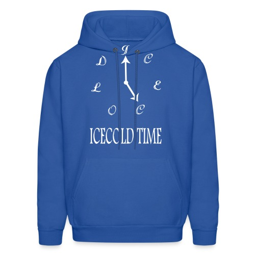 IceCold Time White - Men's Hoodie