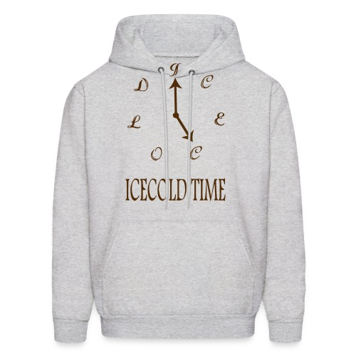 IceCold Time Brown - Men's Hoodie