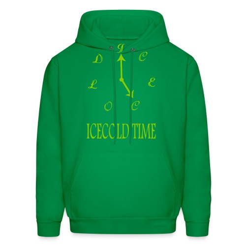 IceCold Time Light Green - Men's Hoodie