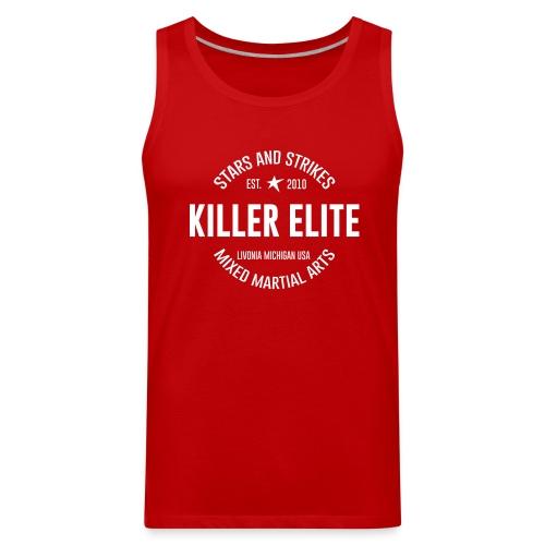 Stars and Strikes MMA Killer Elite Tank RED - Men's Premium Tank