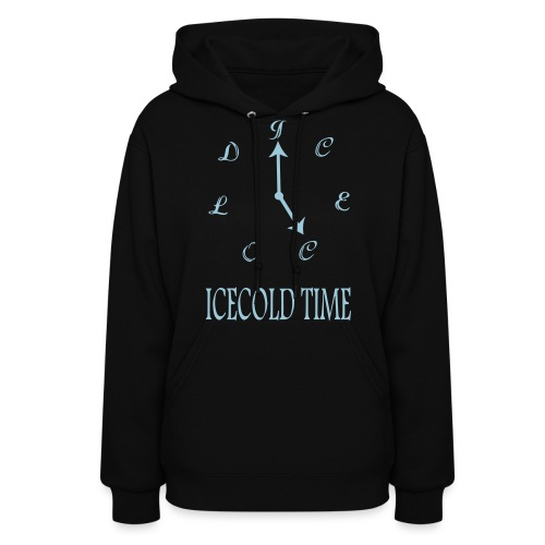IceCold Time Light Blue - Women's Hoodie
