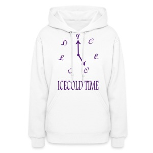 IceCold Time Purple - Women's Hoodie