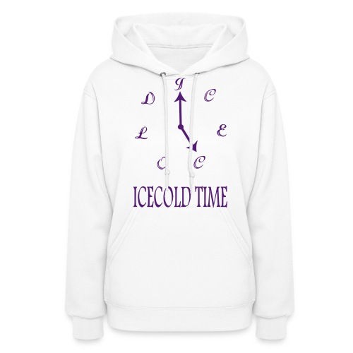 IceCold Time Purple - Women's Hoodie