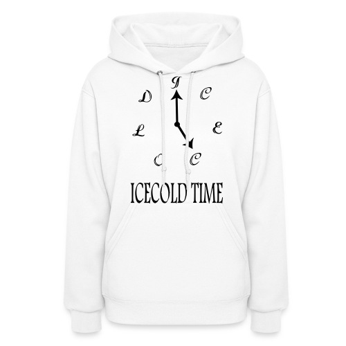 IceCold Time Black - Women's Hoodie
