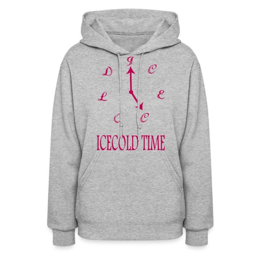IceCold Time Hot Pink - Women's Hoodie