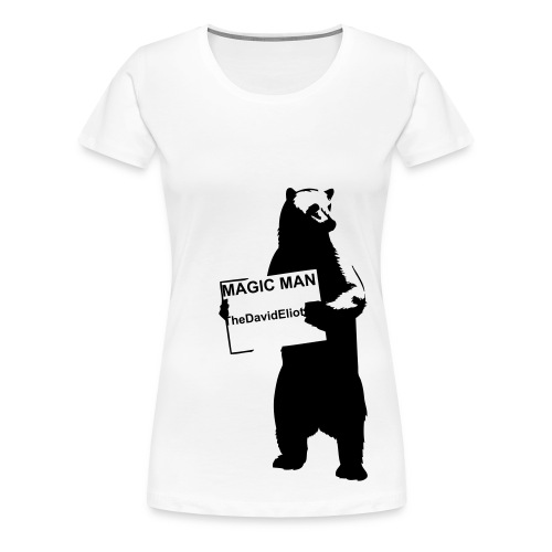 Girls street bear - Women's Premium T-Shirt