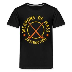 Field Hockey Weapons of Destruction Kids Tee - Kids' Premium T-Shirt