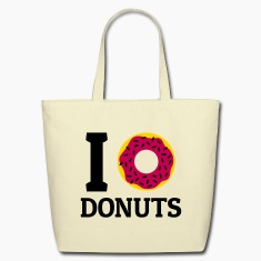 I love donuts Bags & backpacks