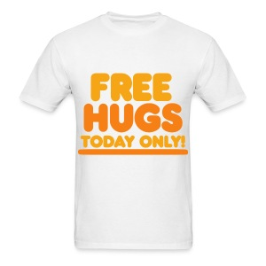 Free Hugs Today Only - White - Men's T-Shirt