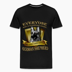 German Shepherd T-shirt - Guardian angel