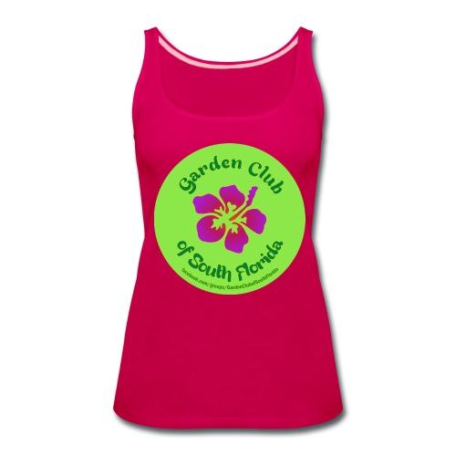 Garden Club of South Florida - Tank - Women's Premium Tank Top