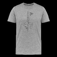 T-Shirts ~ Men's Premium T-Shirt ~ Sickabod stripper pole - Mens