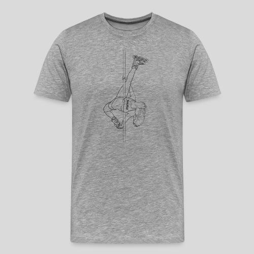 Sickabod stripper pole - Mens - Men's Premium T-Shirt