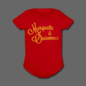 Marquette Oresome - Short Sleeve Baby Bodysuit