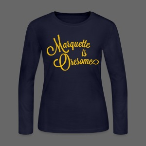 Marquette Oresome - Women's Long Sleeve Jersey T-Shirt