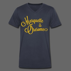Marquette Oresome - Men's V-Neck T-Shirt by Canvas