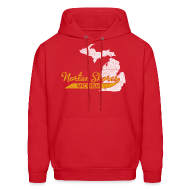 Hoodies ~ Men's Hooded Sweatshirt ~ Norton Shores M