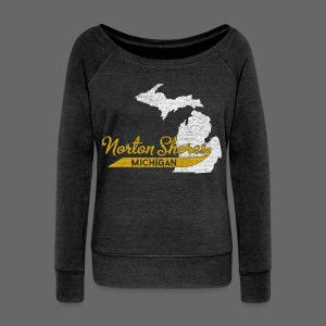 Norton Shores MI - Women's Wideneck Sweatshirt