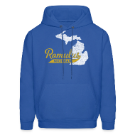 Hoodies ~ Men's Hooded Sweatshirt ~ Romulus MI