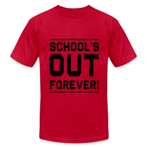 School's Out - Men's T-Shirt by American Apparel