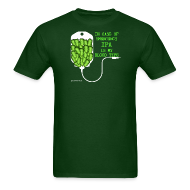 T-Shirts ~ Men's T-Shirt ~ IPA Is My Blood Type Men's T-Shirt