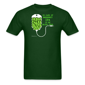IPA Is My Blood Type Men's T-Shirt - Men's T-Shirt