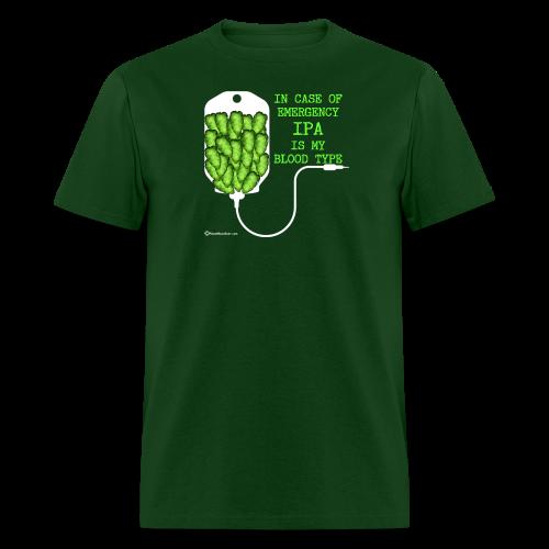 IPA Is My Blood Type Men's T-Shirt - Men's T-Shirt