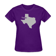 T-Shirts ~ Women's T-Shirt ~ Texas