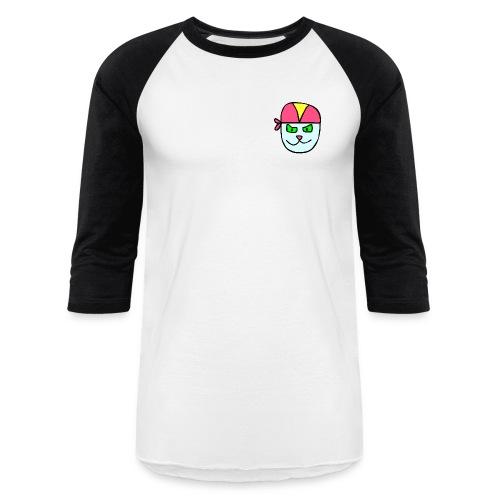 Blu34 Shitititittitit Black - Baseball T-Shirt