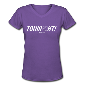 TONIII19HT- Ladies V-Neck - Women's V-Neck T-Shirt