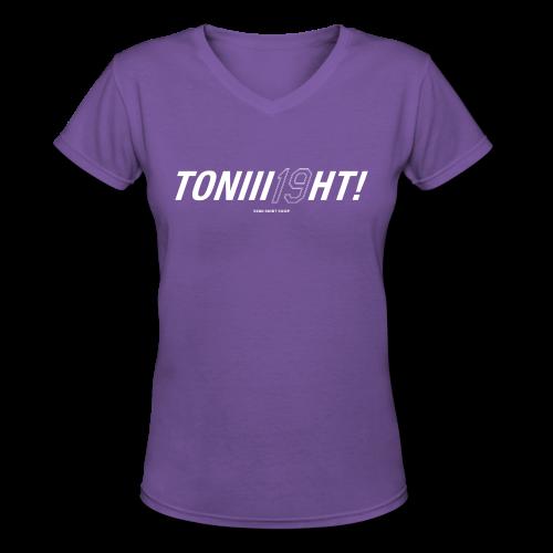 TONIII19HT- Ladies V-Neck - Women's V-Neck T-Shirt