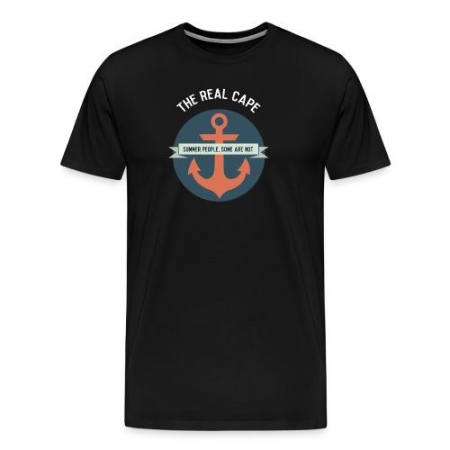 Anchor White Lettering - Men's Premium T-Shirt