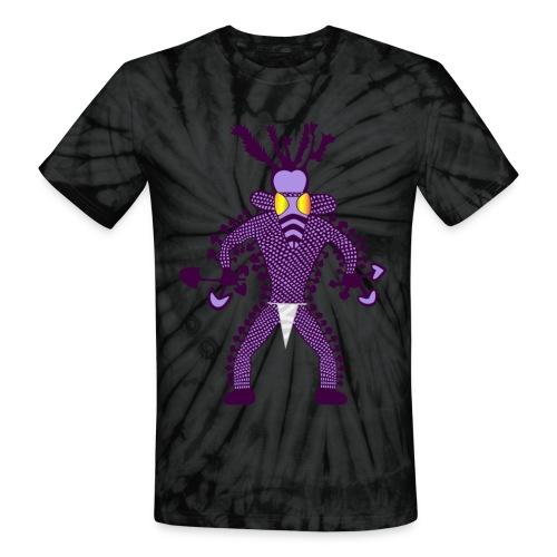 Tassili Mushroom Shaman Shirt - Unisex Tie Dye T-Shirt