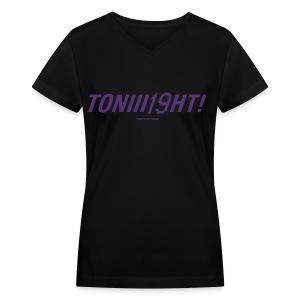 TONIII19HT- Ladies V-Neck 2 - Women's V-Neck T-Shirt