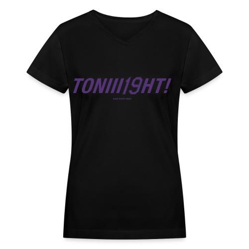 TONIII19HT - Women's V-Neck T-Shirt