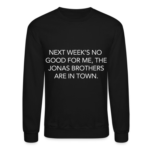 Jonas Brothers In Town - Crewneck Sweatshirt