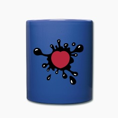 Heart Splash Mugs & Drinkware