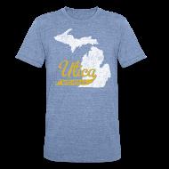 T-Shirts ~ Unisex Tri-Blend T-Shirt by American Apparel ~ Utica MI