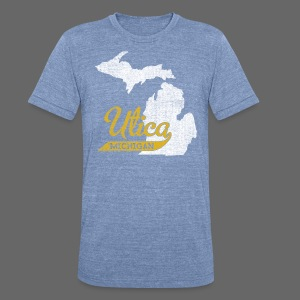 Utica MI - Unisex Tri-Blend T-Shirt by American Apparel