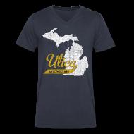 T-Shirts ~ Men's V-Neck T-Shirt by Canvas ~ Utica MI