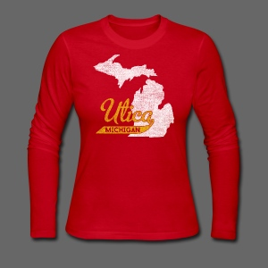 Utica MI - Women's Long Sleeve Jersey T-Shirt