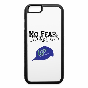 No Fear & No Regrets iPhone 6 case - iPhone 6/6s Rubber Case