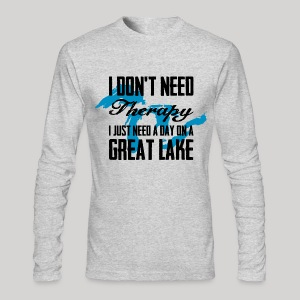 Just need a Great Lake - Men's Long Sleeve T-Shirt by Next Level