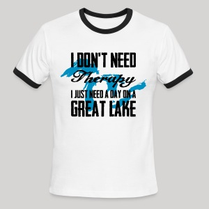 Just need a Great Lake - Men's Ringer T-Shirt