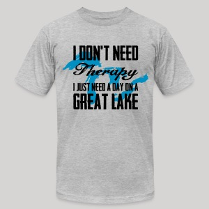 Just need a Great Lake - Men's T-Shirt by American Apparel