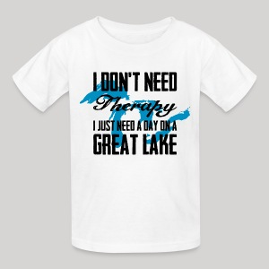 Just need a Great Lake - Kids' T-Shirt