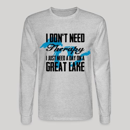 Just need a Great Lake - Men's Long Sleeve T-Shirt