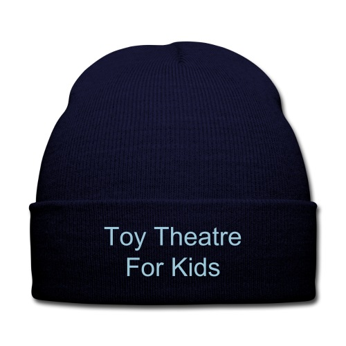 Toy Theatre Beenie - Knit Cap with Cuff Print