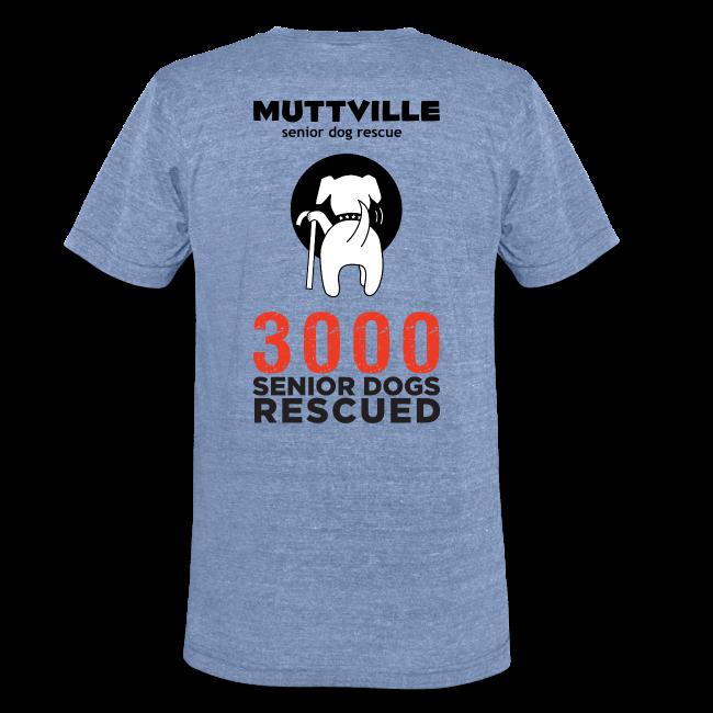 Muttville's #3000 Milestone Commemorative Tee